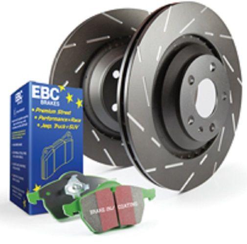 Ebc Front Greenstuff Pads Usr Discs Pack Mini Clubman R55 16